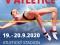 Plakát k MČR v atletice na dráze