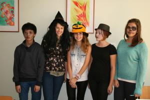 halloween ve 3.B - masky
